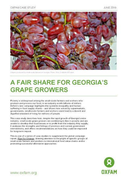 A fair share for Georgia's grape growers