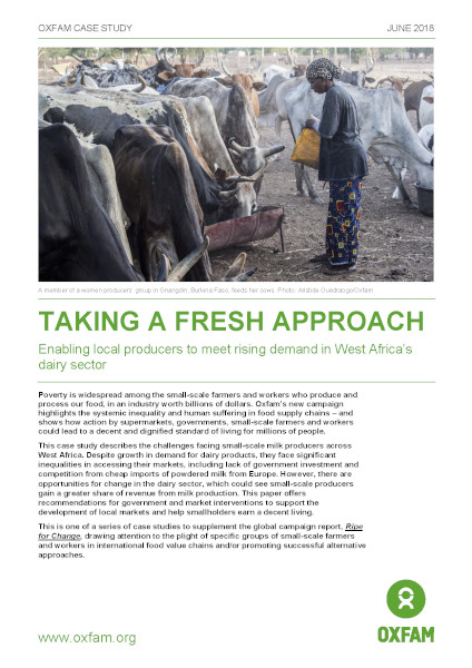 Taking a Fresh Approach: Enabling local producers to meet rising demand in West Africa's dairy sector