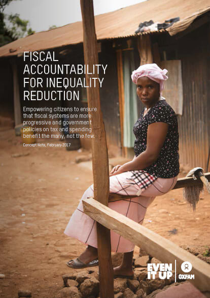 Fiscal accountability for inequality reduction
